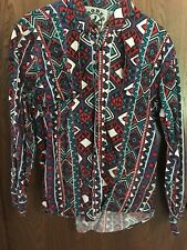 Vintage Rodeo Active western Shirt   buttoned 80-90's size Large