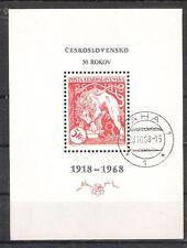 CHECOSLOVAQUIA H.B. 36º Cincuentenario del país