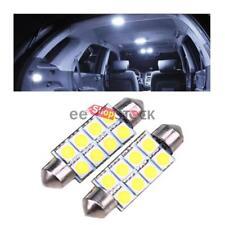 Ampoule led navette auto 41 MM SV8 veilleuse plafond coffre 8 SMD 5050 blanc