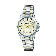 Orologio casio international analog ladies ltp-v004sg-9audf tempo data acciaio