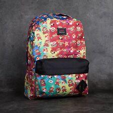Vans Skate Co. Mario Nintendo Old Skool II Red Mens Unisex Backpack School Bag
