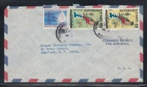 HAITI Commercial Cover Port au Prince to New York City 3-7-1969 Cancel