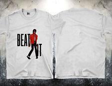 Vintage Shirt 1984 Michael Jackson Beat It Thriller King T-Shirt Reprint