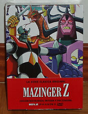 MAZINGER Z THE SERIES CLASSIC ORIGINAL BOX.2 NEW SEALED 12 DVD (UNOPENED)R2