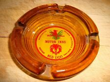 Vintage American Red Lion Inns Ash Tray