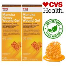 CVS Health Manuka Honey Wound Gel, Scar & Wound Care all Natural 0.5 OZ