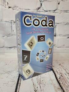 The Game Of Coda The International Code Breaking Sensation. New Sealed