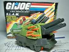 04923 S.L.A.M. SLAM 1987 GI JOE MIB STYLE 100% COMPLETE W/ BP & REPRO DECALS