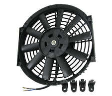 12'' INCH ELECTRIC PULL/PUSH CFM 1550 COOLING ELECTRICAL 12V RADIATOR FAN