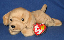 TY FETCH the GOLDEN RETRIEVER BEANIE BABY - MINT with MINT TAGS