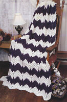 Crochet Pattern ~ CROCUS IN THE SNOW AFGHAN ~ Instructions