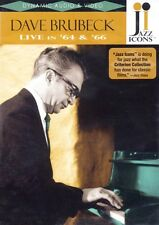 Dave Brubeck Live in '64 and '66 Live Dvd New 000320694