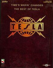 BEST OF TESLA GUITAR TAB SHEET MUSIC SONG BOOK SONGBOOK