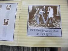 """Rick Wakeman – Las Seis Esposas De Enrique VIII / Six Wives Of   ' LP """" MINT"""