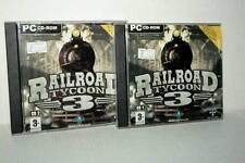 RAILROAD TYCOON 3 GIOCO USATO PC CD ROM VERSIONE ITALIANA GD1 47809
