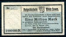 Zeven 1 Millionen Mark ....................................................z1125