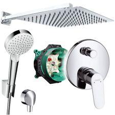 Unterputz Duschsystem mit Kopfbrause 300x300, Crometta, iBox, Hansgrohe Focus E2