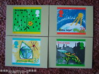 PHQ Card set FDI Back No 146 The Green Issue, 1992. 4 card set.  Mint Condition