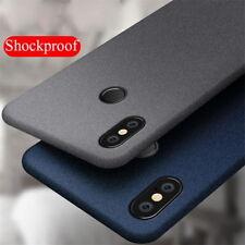 For Xiaomi Mi A2 Lite A1 8 SE Redmi Note 5 6 Pro Sandstone Soft Matte Case Cover