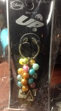 New Disney UP Adventure Balloons Carl & Ellie's House Key Chain Ring Keychain