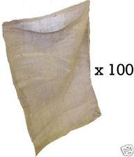 100 18x30 Burlap Bags, Burlap Sacks, Potato Sack Race Bags, Sandbags, Gunny Sack