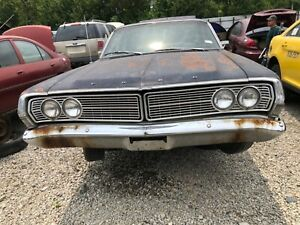 1968 Ford Galaxie 500 Grille - LH & RH sides - NO DENTS Straight.  OEM