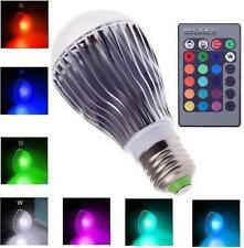 16Color E27 E26 LED 10W Change RGB Magic Light Bulb Lamp Spot + Remote Control
