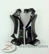 2004 2005 2006 R1 Upper Mid Side Cover Panel Fairing Cowling 100% Carbon Fiber