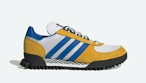 adidas Originals Marathon FY3683 Yellow White Blue
