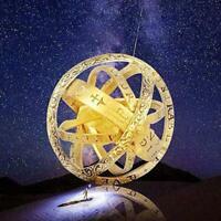 Astronomische Kugel Kugelring kosmischen Fingerring Paar Liebhaber Globus R M1G8
