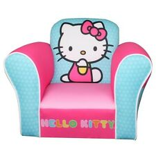 NEW Hello Kitty Plush Armchair Kids Furniture Play Room INTERNATIONAL SHIPPING