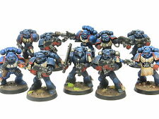 Tactical Squad-Carmesí puños pintado warhammer 40K Space Marine Army