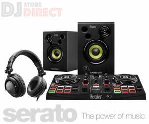 Hercules DJ Learning Kit Bundle Inpulse 200 controller + Speakers & Headphones