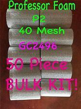 Professor Foam 50 Pc Package Gc2496 40 Mesh Filter Kit Fits Graco Probler P2