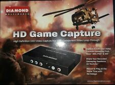 Diamond Multimedia HD Game Capture Box With Component Video Loop-Through