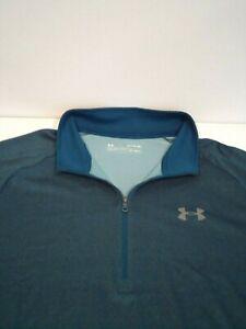 Under Armour Mens Tech 2.0 1/2 Zip Long Sleeve Shirt Sz XL Moisture Wick 1328495