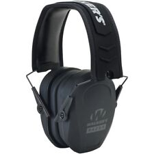 Walker's GWP-RSMPAS Ear Muff Hearing Protection Slim Low-Pro Cup Folding Black