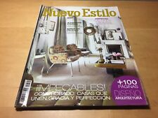 Magazine Decoration NEW STYLE nº 391 October 2010 - Decor Magazine - Spanish