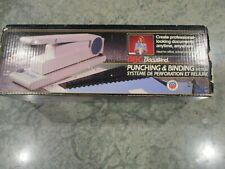New Gbc Docubind Heavy Duty 3 Hole Punching Amp Binding System 9754001 Nib