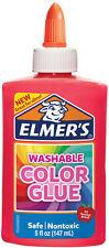 Elmers Opaque Colored Liquid Glue 5oz-Pink