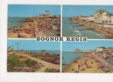 Bognor Regis Sussex Multiview Postcard 656a