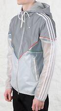 """Adidas Lux Colorado Reflective Stone Pierre Transparent Jacket Sz L Chest 45"""""""