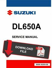 Suzuki 2017 V-Strom 650 Service Manual