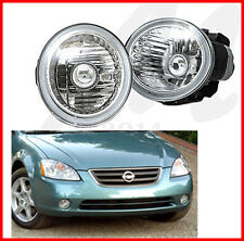 FOR 02-04 ALTIMA SEDAN Bumper FogLights Driving Lamps Set Pair Assembly kit OE
