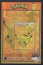 Grenade Grenada un feuillet neuf 2001 les Pokémons /T960