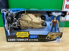Dark Knight Rises - Camo Tumbler with Bane Action Figure / Vehicle