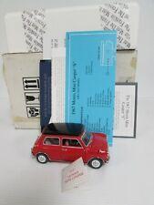 Franklin Mint 1967 Morris Mini Cooper S 1:24 Diecast MIB GB037