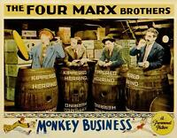 The Marx Brothers Monkey Business 1931 Movie Poster Canvas Wall Art Film Print