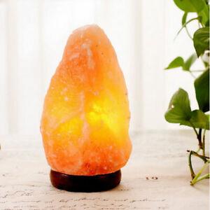 HIMALAYAN SALT LAMP Crystal Rock Natural Pink  Salt Night Light 1-20 Kgs