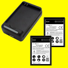 Accessory 2x 3850mAh Battery Charger For Samsung Galaxy Nexus GT-i9250 i9250 USA